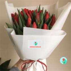 Tulipanes Rojos a domicilio