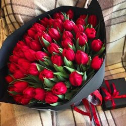 Ramo de 200 Tulipanes