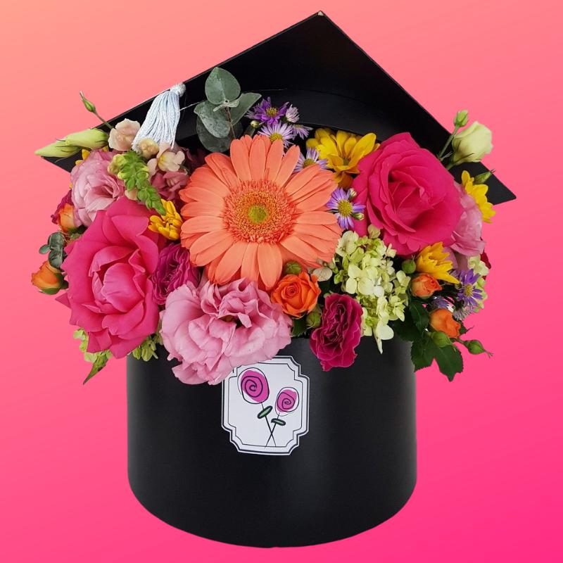 Arreglos de flores para graduación CDMX