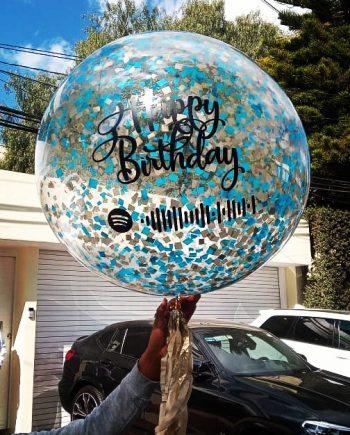 globos personaliado spotify