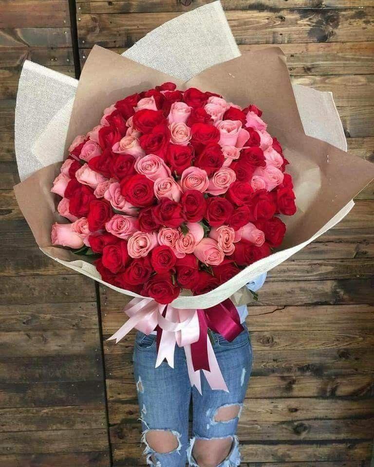 Ramo de 200 rosas rojas y rosas