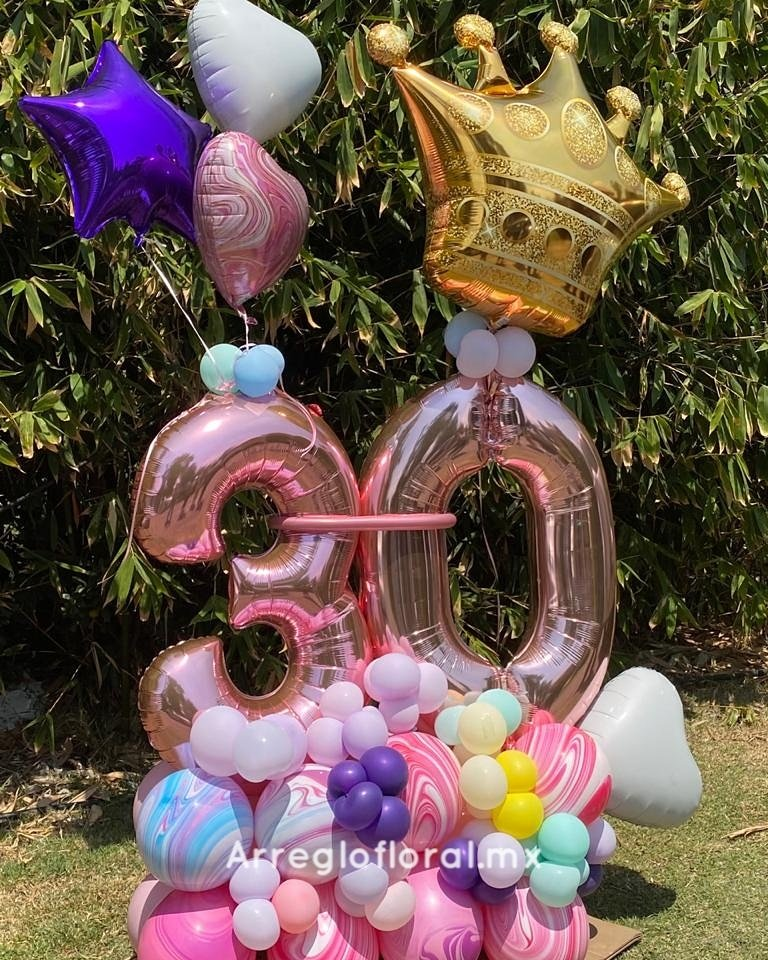 Bouquet 30 años con corona