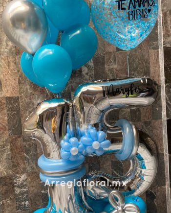 Bouquet de Globos látex 15 años