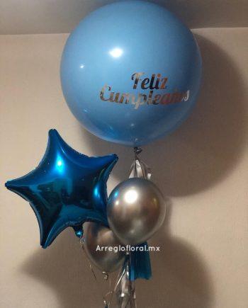 Set Globos Azul